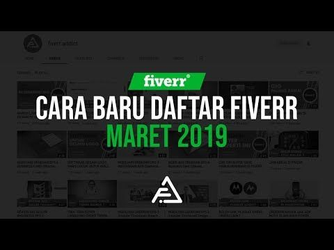 Tutorial Mendaftar Fiverr Maret 2019 Youtube In 2020 Fiverr Tutorial Instagram