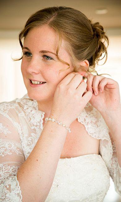 Als klein meisje keek ze al naar koninklijke bruiloften, ze kon niet wachten om op jacht te gaan toen ze zelf verloofd was. //Foto: Margriet Fotografie.