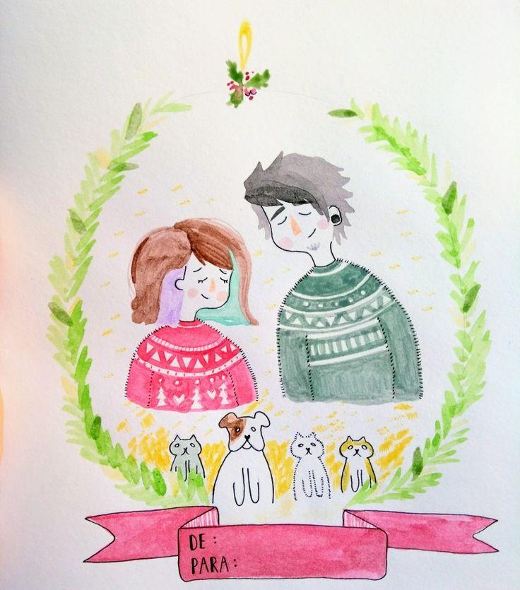 #dibujo #chile #desing #pedidos #carta #navidad