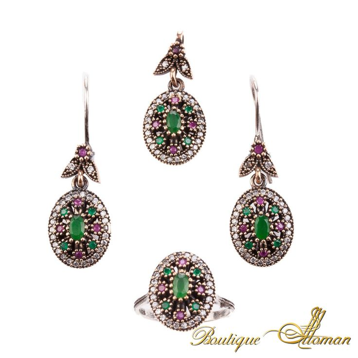 #authentic Hareem Exclusive Collection Jewelry Set HS-2066  #jewelry #ottoman