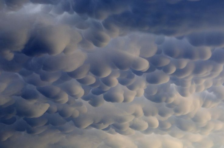 Mammatus clouds develop on the edge of a severe thunderstorm in northern Oklahoma on June 16, 2005.    Jim Reed has been photographing and reporting on extreme weather for 21 years, and has been reconized as one of the world's most accomplished extreme-weather photographers,