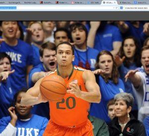 NCAA: une superbe galerie photos de Manu Lecomte et de Miami Hurricanes à Duke  #NCAA: une superbe galerie photos de @ManuLecomte et de #MiamiHurricanes à #Duke #basketbelgium