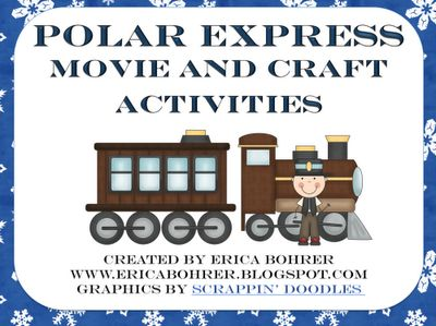 Classroom Freebies: Tickets for a Polar Express Classroom Movie Party
