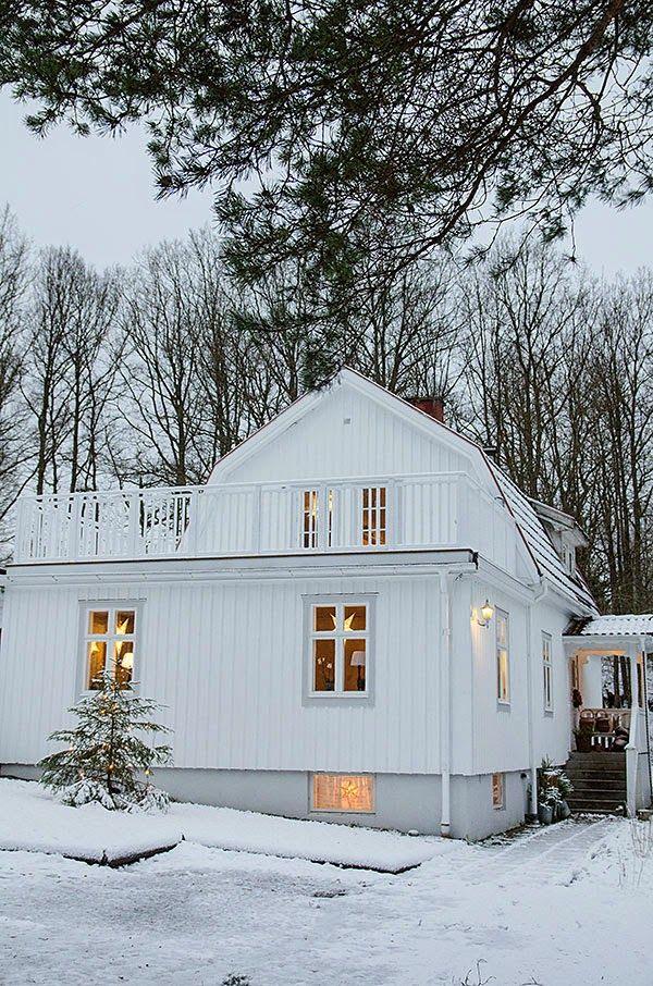 33 besten vitahus unser haus aussen bilder auf pinterest schwedenhaus skandinavisches wohnen. Black Bedroom Furniture Sets. Home Design Ideas