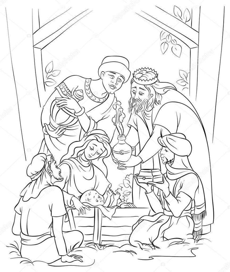 42++ Christian christmas coloring pages for adults ideas