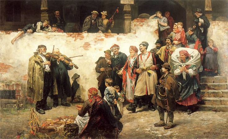 Wincenty Wodzinowski - 1889  Na_swojska_nute.jpg 800×490 pixels