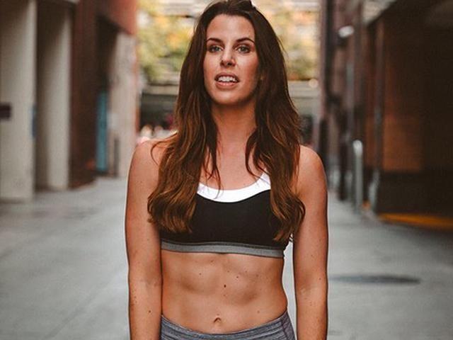 Carley rowena - fitness blogger - abs - womens health uk
