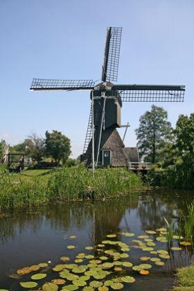 Polder mill De Trouwe Wachter, Tienhoven, the Netherlands