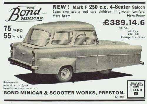 Pin By Craigrothenburger On Enclosed Reverse Trikes Bond Cars