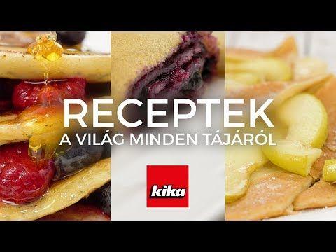 (57) Palacsinták a  világ minden tájáról 1. rész | Kika Magyarország - YouTube