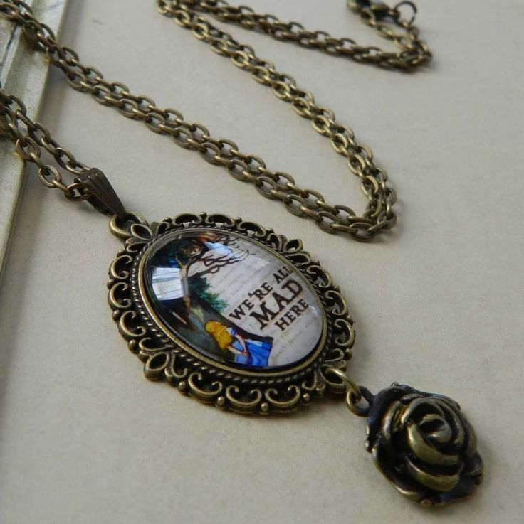 Vanessa Admiral Jewellery — ~We're All Mad Here~ Wonderland Inspired Necklace