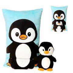 Penguin Pocket Pillow