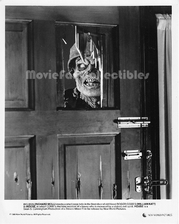 House 8x10 Photo Zombie Horror Movie Still Richard Moll