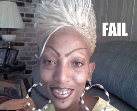 OMG...eyebrow FAIL!