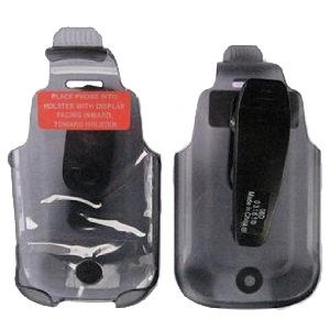 Verizon Belt Clip Holster for BlackBerry 9630 Tour, Bold 9650 - Translucent Black (Bulk Packaging)
