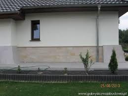 Afbeeldingsresultaat voor front domu wykończony piaskowcem
