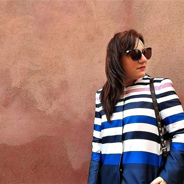 For some time now the stripes dominate the fashion