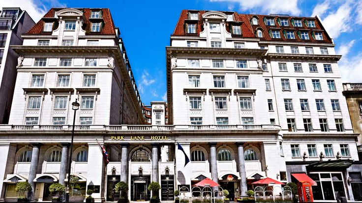 The Park Lane Hotel - an Art Deco hotel in the heart of London Mayfair, facing Green Park and just a short walk away from Buckingham Palace. The hotel was founded in the 1920s.