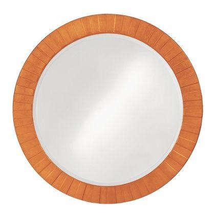 Howard Elliott Serenity Glossy Orange Mirror