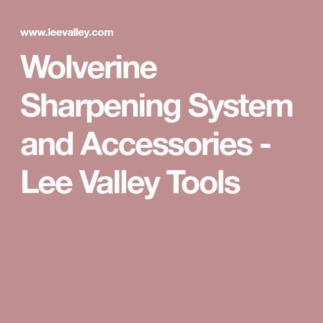 Lee Valley Sharpening System