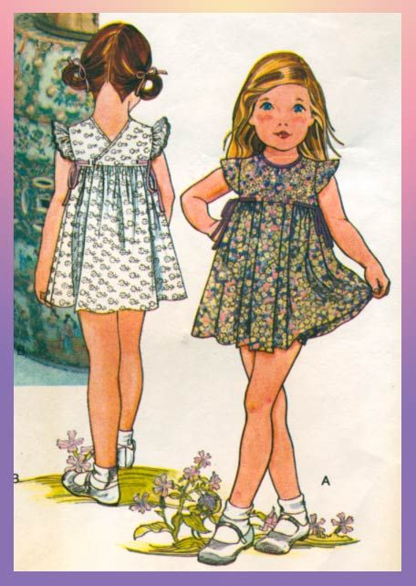 Little Vogue sewing pattern 1912. 80's