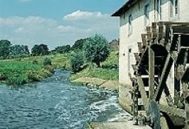 Waterrad in Gulpen.