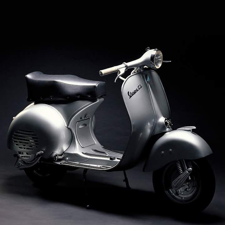 Inspirational Tuesday - Vespa (1946-2017)  Vespa (latin for wasp) is a family of scooters manufactured by the Italian company Piaggio known for their great manoeuvrability reliability comfortable ride practicality and of course their ingenious and iconic patented design.  It all started in 1944 when Renzo Spolti and Vittorio Casini designed the first prototype - a motorcycle with small diameter wheels that allowed compact design and plenty of room for the riders legs pressed steel monocoque…