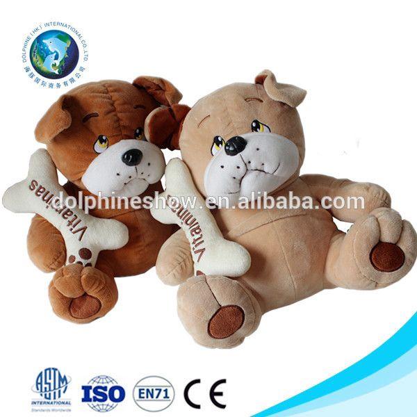 Baixo MOQ buldogue francês macio cachorro de brinquedo de pelúcia bonito personalizado new stuffed suave plush buldogue francês
