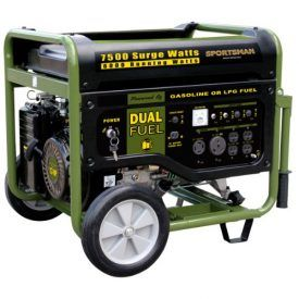Great for running the RV while out on the road, or for keeping essential appliances going during a power outage, the Sportsman Series Dual Fuel Generator has the power and flexibility to handle the task. This generator runs on either unleaded gas or propane gas, so you can use whichever fuel is more easily available […]