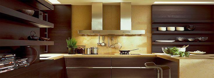 Коричневая кухня: оформление интерьера в шоколадных оттенках и 85 теплых и уютных воплощений http://happymodern.ru/korichnevaya-kuxnya-foto/ korichnevaya-kuxnya-foto
