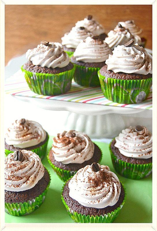 Cupcakes cappuccino per la festa del papà!