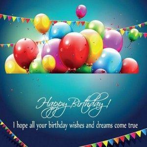 Cute Short Birthday Wishes