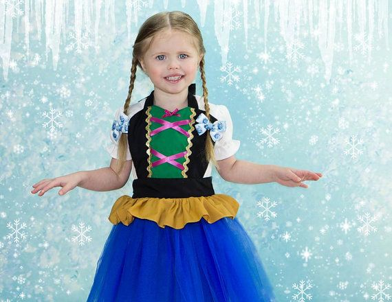 kids  ANNA  tutu dress up   apron for  full by loverdoversclothing