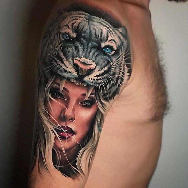 Beautiful tattoo by sandradaukshtatattoolocation latvia