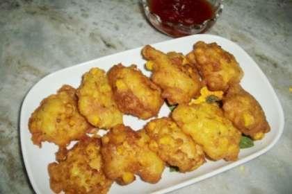 Fried Sweet Corn Nuggets