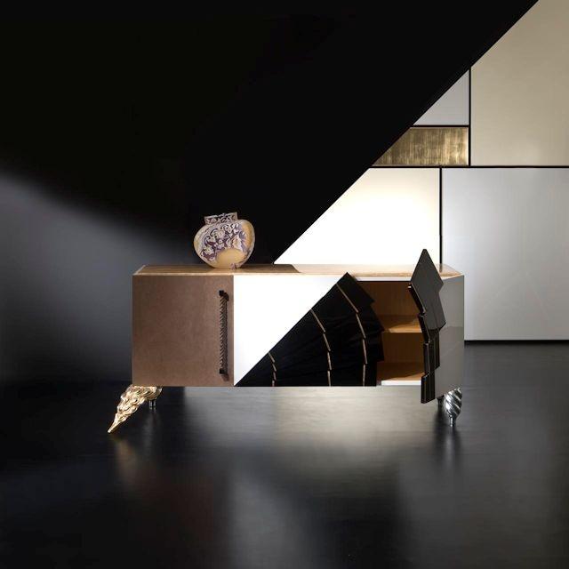 Art. MK-155 Sideboard. Rozzoni mobli d'Arte. design Statilio Ubiali