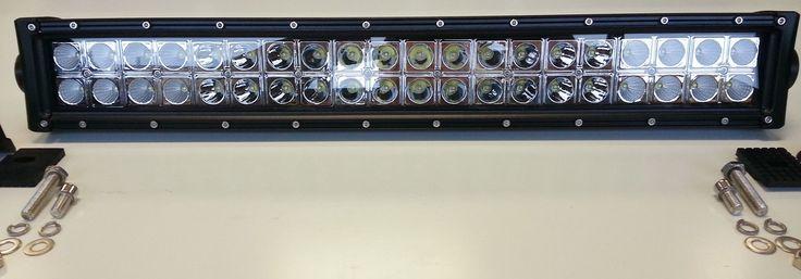 Double Row 20 Inch LED Light Bar, 120 Watt Combo beam