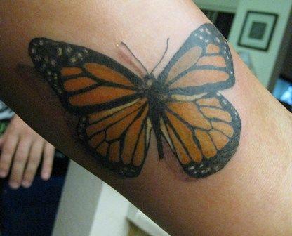 tatuagens de borboletas tinta na pele 59