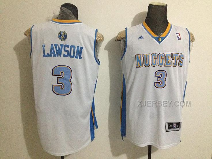 http://www.xjersey.com/nuggets-3-lawson-white-new-jerseys.html NUGGETS 3 LAWSON WHITE NEW JERSEYS Only $34.00 , Free Shipping!