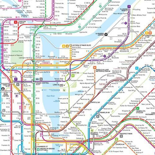 Subway Map Holiday.This New Nyc Subway Map May Be The Clearest One Yet Future