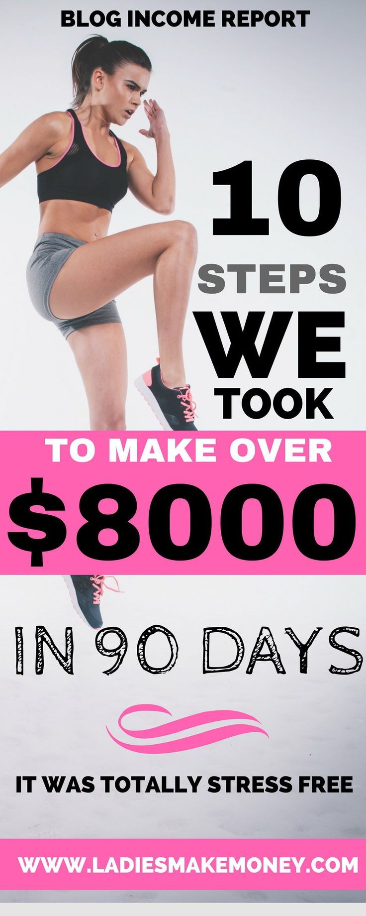 How to make over $8000 from your blog. Make money blogging with these tips. How to increase your Affiliate sales and make money on your blog. Blog income report