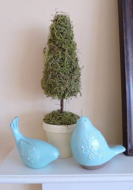 moss topiariesCrafts Ideas, Decor Ideas, Moss Topiaries, Spring Decor, Spring Moss, Feelings Crafty, Diy Topiaries, Simply Design, Diy Projects