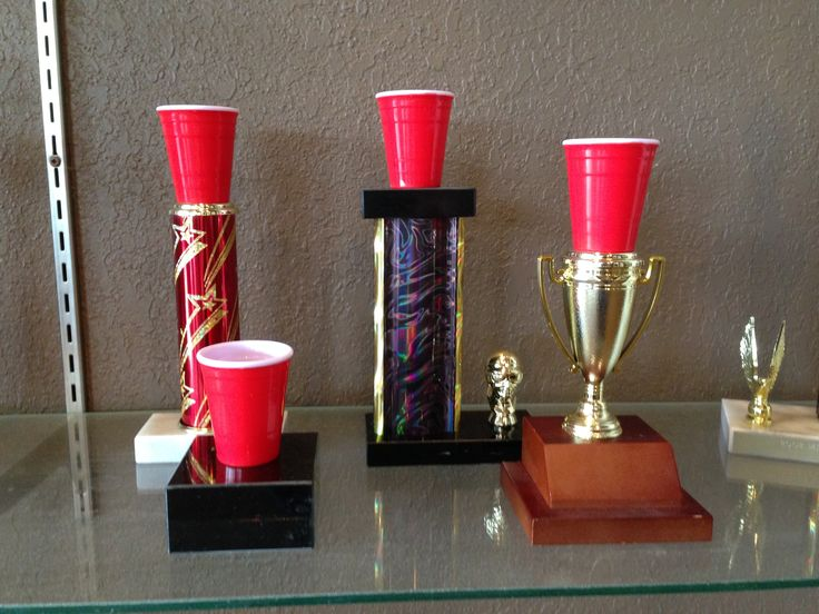Beer Pong Trophies at BJ's Trophy Shop, Inc.