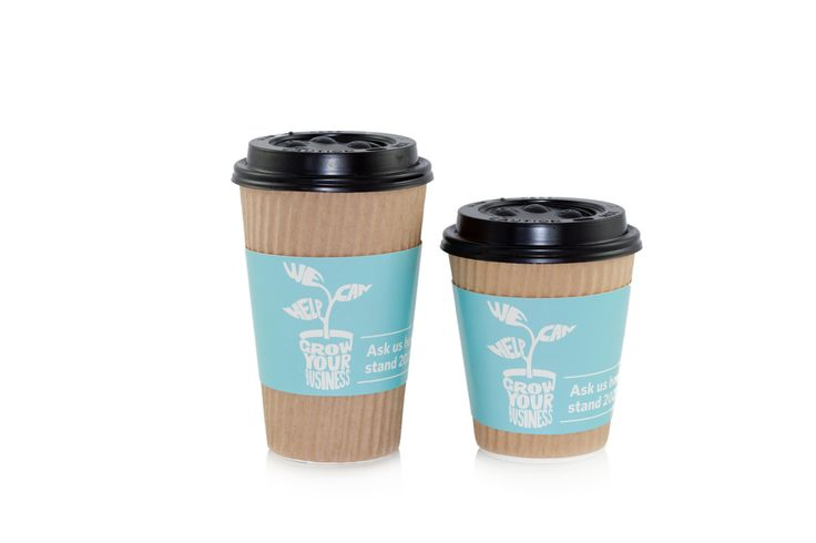 When Auckland Tourism Events  Economic Development needed items to promote their stand at the MyBiz Expo, they engaged with The Collateral Company.  We had custom designed paper cup sleeves produced to enticed visitors to the ATEED stand for a free coffee as well as a branded tote bag with their stand details.