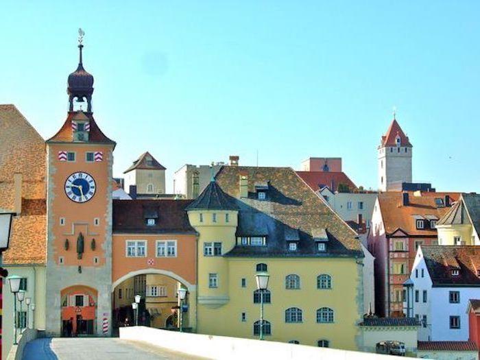Schöne Stadt In Bayern