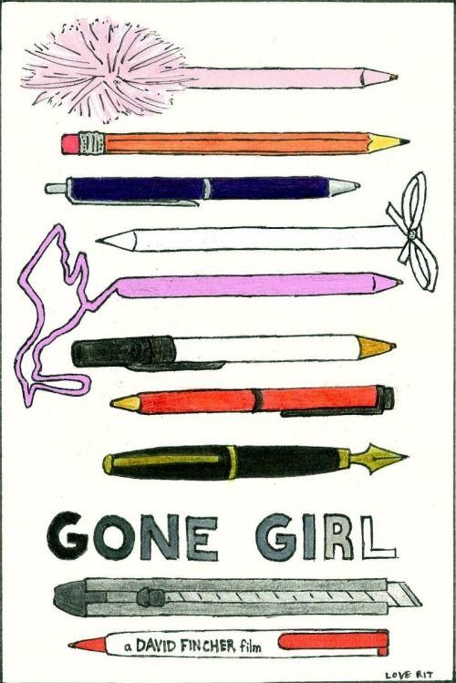 love-rit:  Gone Girl 2014mixed media