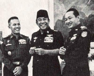 AH Nasution - Bung Karno - Pak Harto