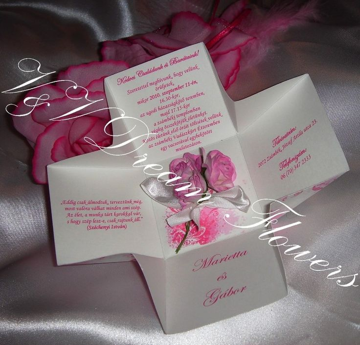 V&V Dream Flowers esküvői meghívók, menü- és ültetőkártyák, köszönetajándékok - Blogger.hu