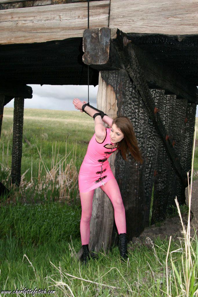 best bondage outdoor open images on pinterest