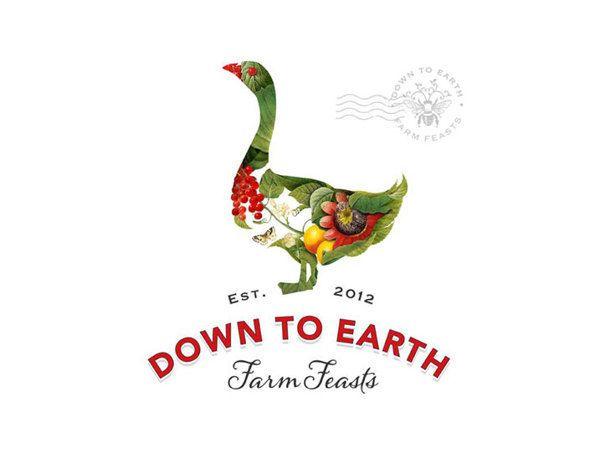 Visual graphc Down to Earth Farm Feasts by Bia van Deventer in Farm